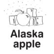 Unicream pasta narghilea Alaska Apple