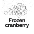 Unicream pasta narghilea Frozen Cranberry