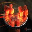 Carbuni Narghilea Cocos 100% Red Lava