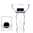 creuzet narghilea dud phunnel glass black