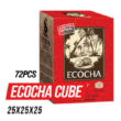 Carbuni Narghilea Ecocha Natural Cube 72 bc