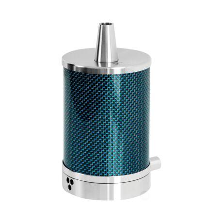 Narghilea Vyro One Carbon Blue Portabil