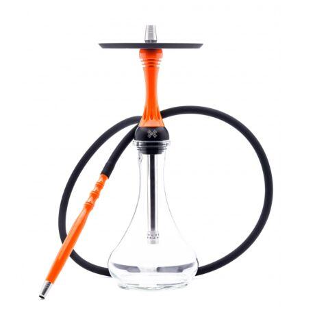 Narghilea Alpha Hookah X Orange - Portocaliu Fluor