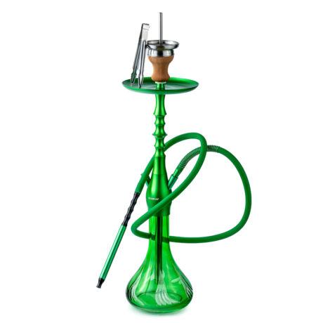 Narghilea Hookah Flame Exodus Green