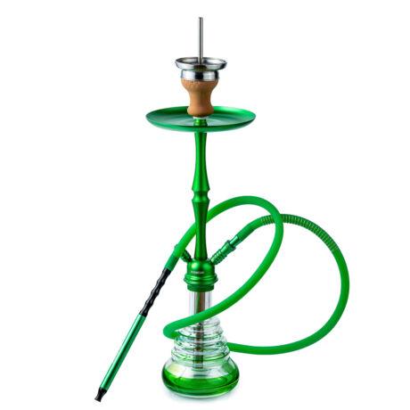 narghilea hookah flame firn set green