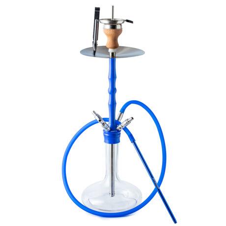 Narghilea Hookah Flame Fourtimate Blue  Set