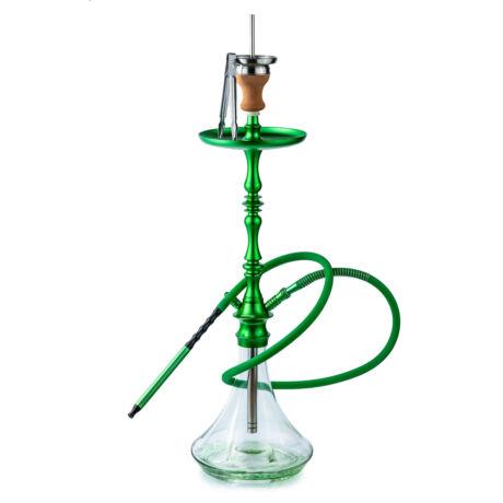 narghilea hookah flame patch green