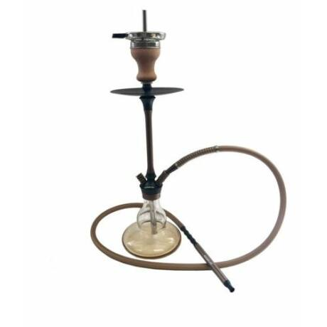 narghilea hookah flame puffy brown