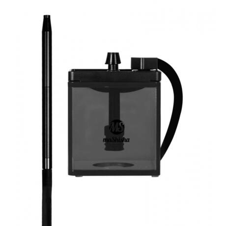 Narghilea MS Mashisha Micro Black-black Portabil