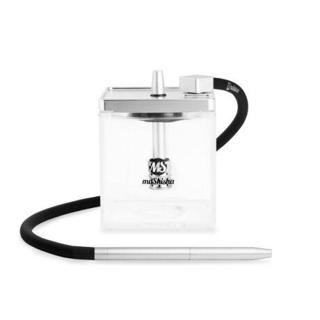 Narghilea MS Mashisha Micro Silver-clear Portabil