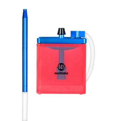 Narghilea MS Mashisha Micro Blue-pink Portabil
