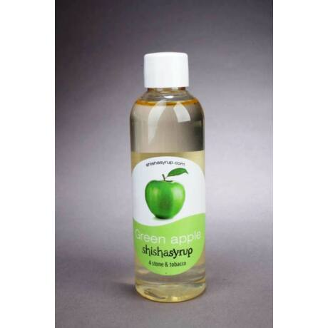 Shishasyrup Umidificator minerale / tutun narghilea Green Apple
