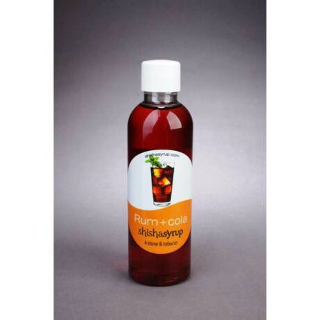 Shishasyrup Umidificator minerale / tutun narghilea Rum + Cola