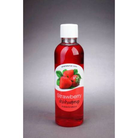 Shishasyrup Umidificator minerale / tutun narghilea Strawberry