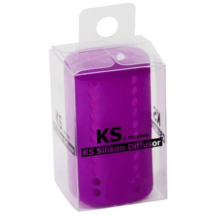 silent filter diffusor tub narghilea purple