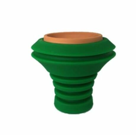 Creuzet Narghilea Hookah Flame Fusion Green