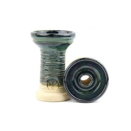 Creuzet Narghilea Phunnel High Fire Strip Blue-green