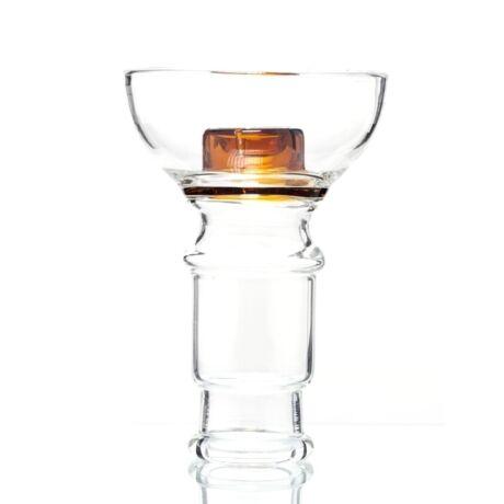creuzet narghilea dud phunnel glass amber
