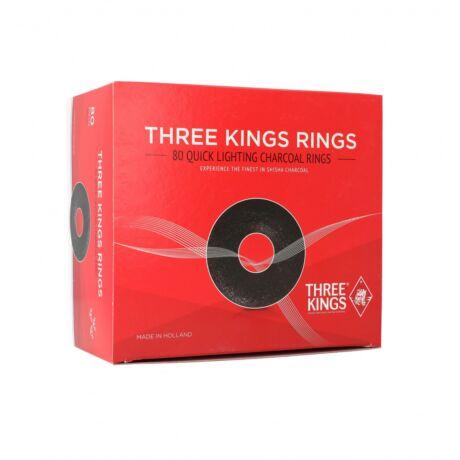 Carbuni Narghilea Ring - Three Kings 44mm