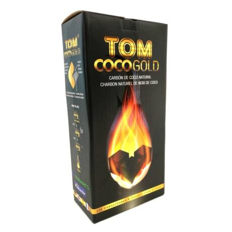Carbuni Narghilea Tom Cococha Gold 3 kg