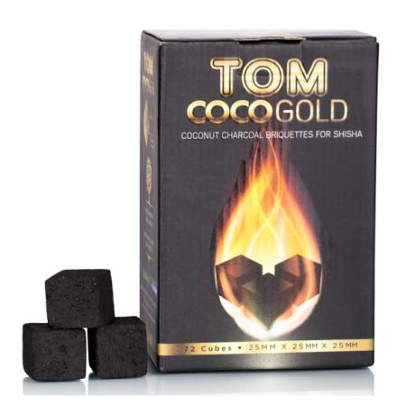 Carbuni Narghilea Tom Cococha Gold 1 kg