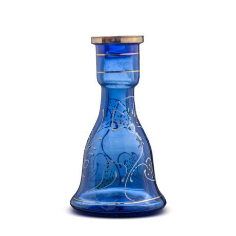 Vas narghilea T.M. blue paint 22cm